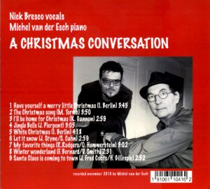 Christmas Carols Album with Nick Bresco on vocals