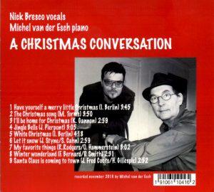 Album de chansons de Noël avec Nick Bresco au chant