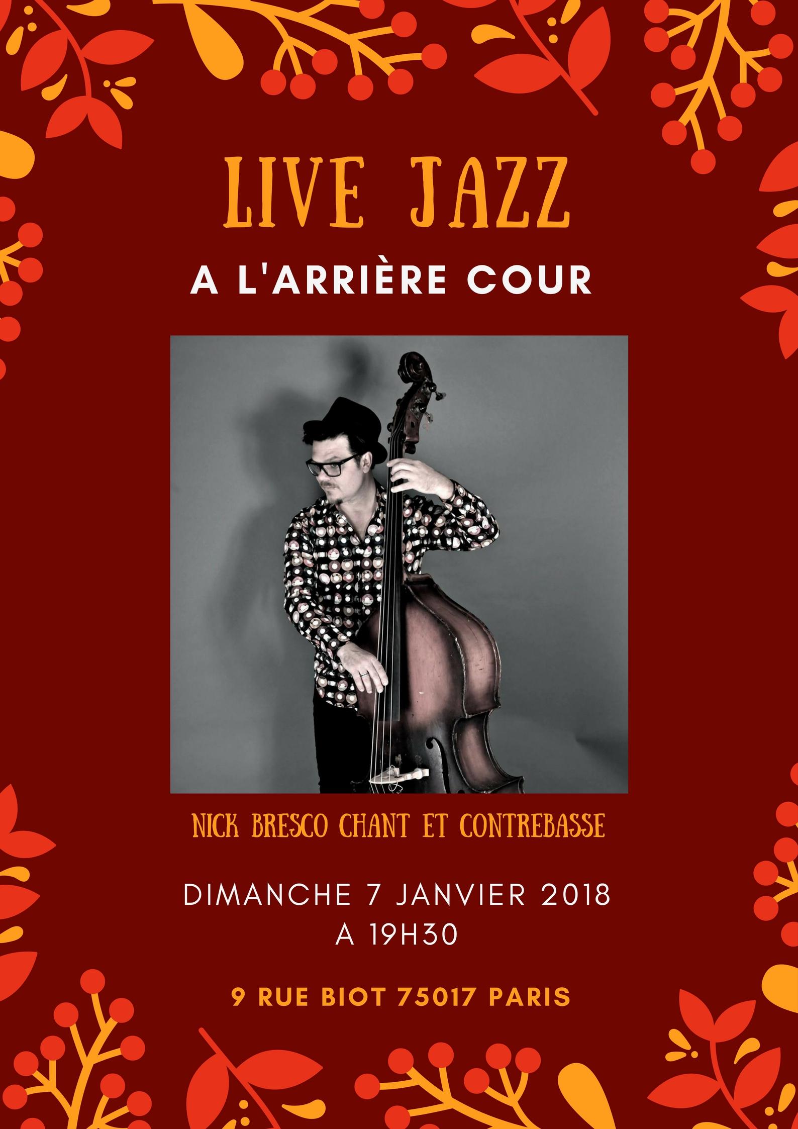 Nick Bresco concert jazzy